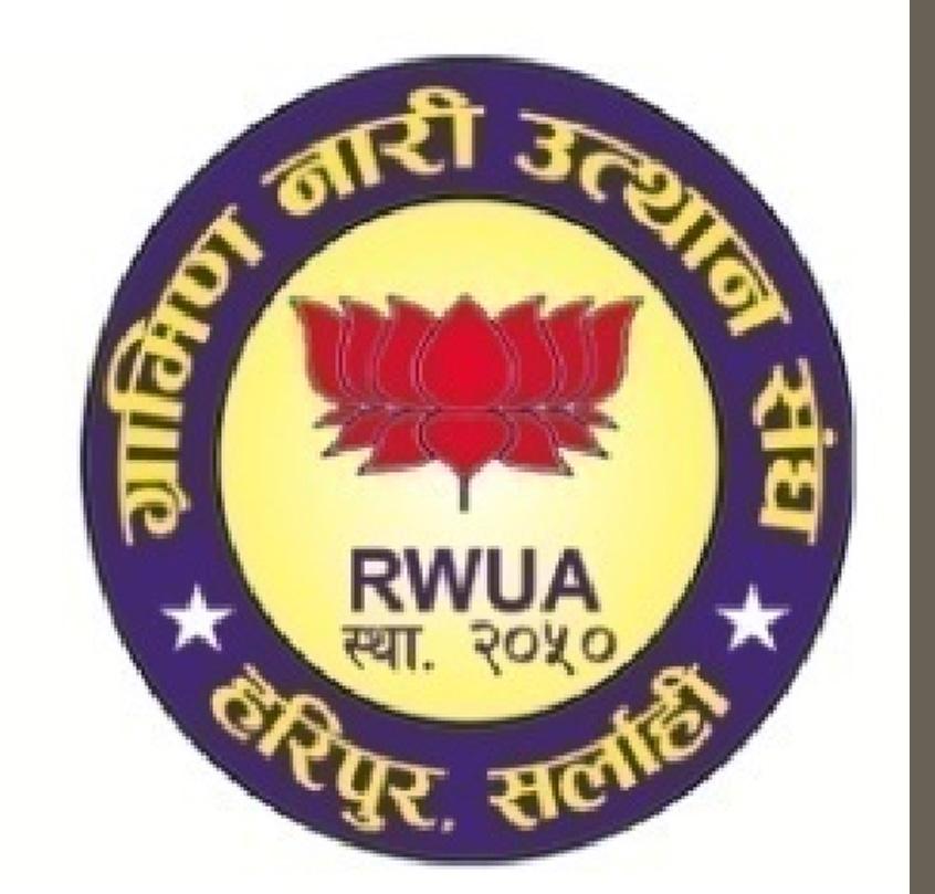 Rural Women Upliftment Association (RWUA)