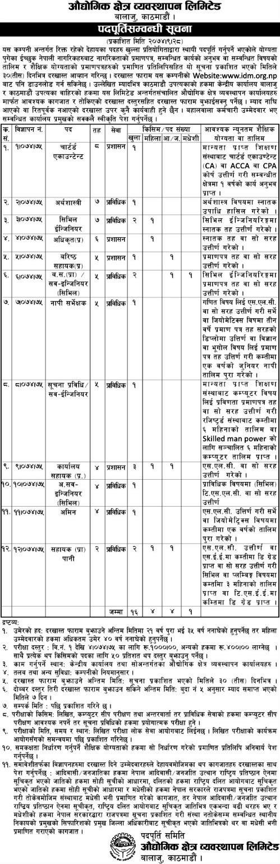 Industrial Districts Management Ltd - Recent Job Vacancy Nepal - 12